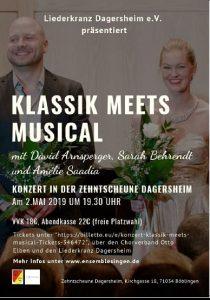 Klassik meets Musical - LK Dagersheim präsentiert besondere Gäste