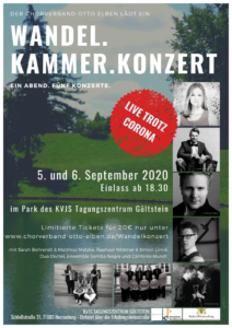 Wandel.Kammer.Konzert @ Park des KVJS in Herrenberg-Gültstein